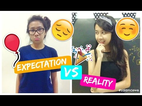 New Year's Eve Expectation VS Reality | INDONESIA | SALAM CEWE - ISABEL CEWE
