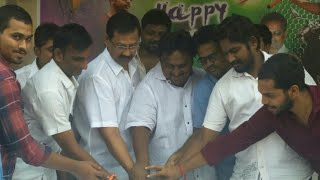 Happy birthday celebrations Supreme Hero Sai Dharma Teja Vijayawada Chiranjeevi yuvtha./24by7Media/