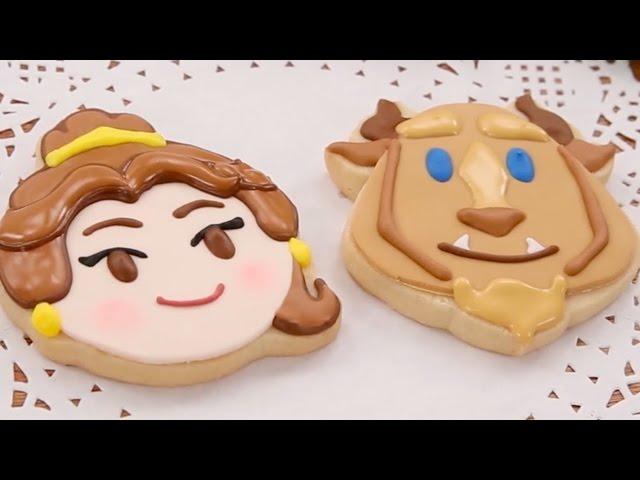 Beauty and the Beast Cookies | #DisneyEmojiBlitz | Disney Family