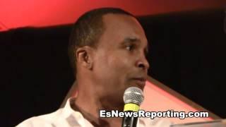 sugar ray leonard routine in the gym EsNews Boxing