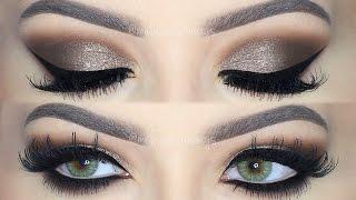 ♡ Brown Smokey Eye Makeup Tutorial! | Melissa Samways ♡