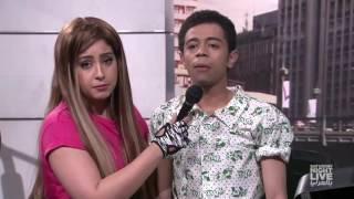 المذيعة المستفزة في الجيم - SNL بالعربي