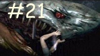 Resident Evil 6 : Leon / Helena Campaign - Walkthrough Part 21 - ZOMBIE SHARK BOSS FIGHT