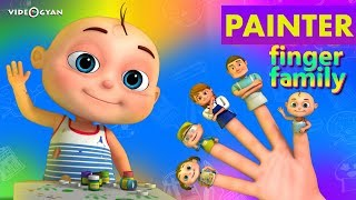 Painter Finger Family And Many More | Finger Family Collection | Nursery Rhymes Kids Songs