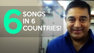 6 Songs in 6 Countries - Kamal wishes Ghibran | Chennai to Singapore Audio Launch