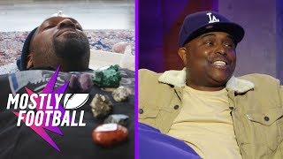 Marty Tries Healing Crystals And Comedian Alex Thomas Brings The Jokes | Mostly Football