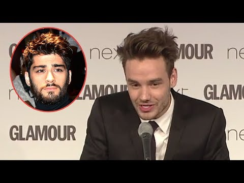 Liam Payne Takes A Dig At Zayn In Speech & Spills On Son Bear
