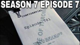 Plot Leak Breakdown Part 7 - Game of Thrones  (Season 7)