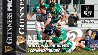 Round 16 Highlights: Benetton Treviso v Connacht Rugby | 2016/17 season