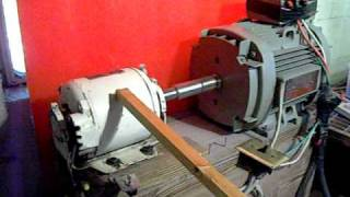 Three phase rotary power converter, Danger! (H.Q.) by Jeffery A. Krueger