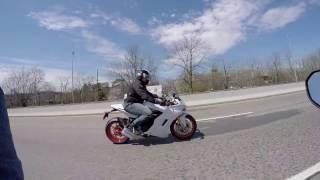2017 Ducati Supersport S Test Ride
