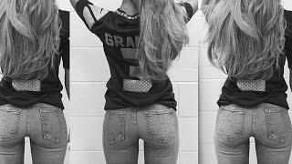 Ariana Grande Posts Butt Selfie at NFL Kickoff