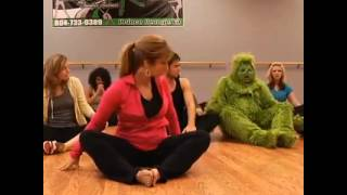 Funny Yoga Video with Grinch