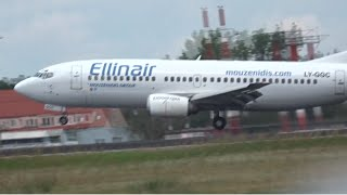 FIRST INAUGURAL FLIGHT Ellinair 737-300 ELB714 Heraklion - Berlin Tegel