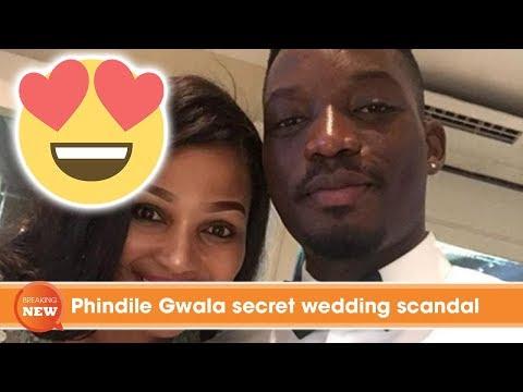 Phindile Gwala secret wedding scandal