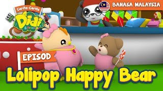 #26 Episod Lolipop Happy Bear | Didi & Friends