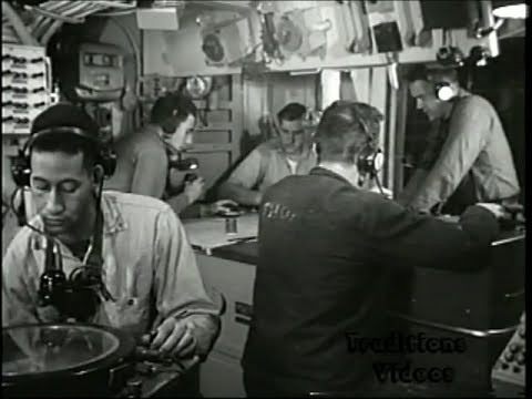 US Navy USS Saufley DD465 1952 Living Conditions