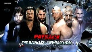 WWE Payback 2014 Official Match Card - The Shield vs. Evolution [HD]
