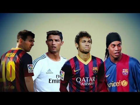 Craziest Skills Ever ● C.Ronaldo ● Neymar ● Messi ● Ronaldinho HD