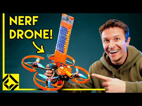 I Built a REAL Nerf Attack Drone