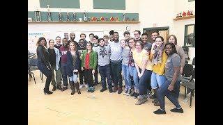 "Howard Gospel Choir - ""Glorious God"" - Workshop at Pinkerton Academy"