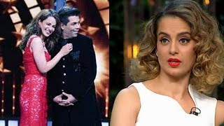 Karan Johar HUGS Kangana Ranaut To End FIGHT But Kangana INSULTS Him On India