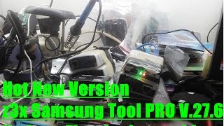 Hot New Version z3x Samsung Tool PRO V.27.6  Update  First in the world