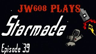 JW608 Plays Starmade Ep 39 Starting Construction of the Ice Queen II
