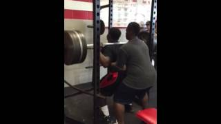 Freshman CJ Wright 585lb squat!!!