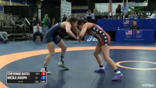 60 Con Semi - Cheyenne Bates (Wayland Baptist University) vs. Nicole Joseph (King University)