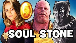 Where Is The SOUL STONE? Black Panther, Avengers Infinity War & Captain Marvel Theory