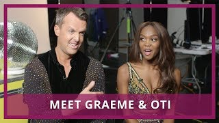 Strictly 2018   Graeme Swann & Oti Mabuse Interview