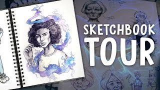 SKETCHBOOK TOUR | March 2017 | Jenna Drawing
