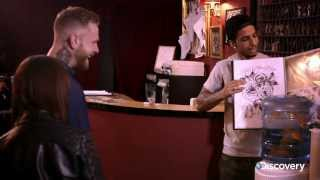 Troy tovert met tattoo's - Troy