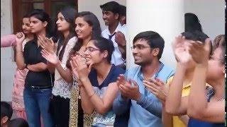 farewell dance video @ DU