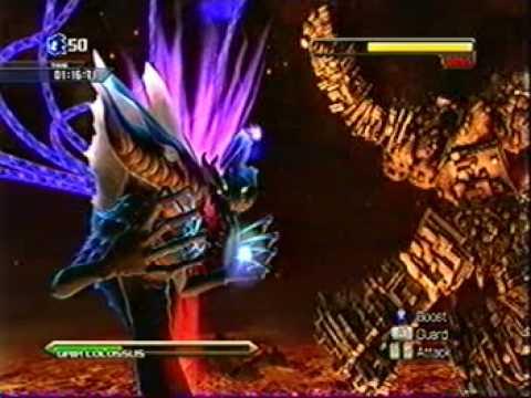 Sonic Unleashed Final Boss Dark Gaia Xbox 360 1 2