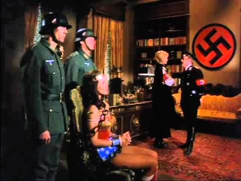 Wonder Woman Captured by the Nazi s and Interrogated