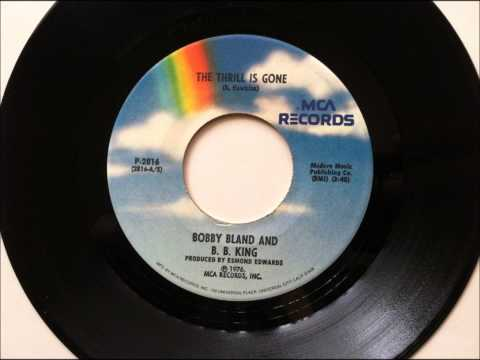Download The Thrill Is Gone , B B King , 1976 Vinyl 45RPM