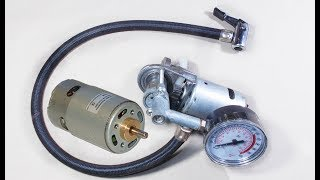 What's Inside a Air Compressor   You Can Make Your Self