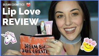 ♡ So Susan Lip Love | Unboxing + Review ♡