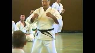 Higaonna Sensei - Basic Blocking and Tai Sabaki