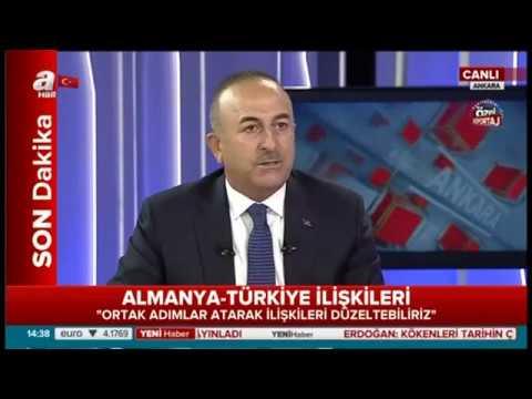 Bakan Çavuşoğlu: Almanya'da basın sistemin kontrolü altında