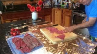 Persian Barg Kabab طرز تهيه كباب برگ