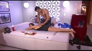 Tiare se ganó un masaje privado al pasar la noche con Víctor - AMOR EN JUEGO