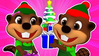 """Beavers at Christmas Time"" 
