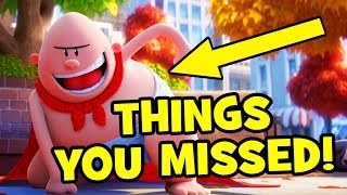 Captain Underpants Trailer EASTER EGGS & Things You Missed