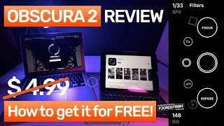 Obscura 2 camera app: review + how to get it for FREE!
