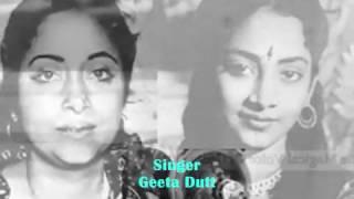 nargis ki aankho me masti sabab ki..Geeta Dutt_ML Khanna_Bulo C Rani..a tribute