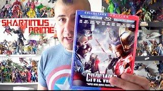Captain America Civil War Target Exclusive 3D Blu Ray Review