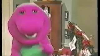 Barney the Dinosaur Outtakes - Barney Falls Down (Barney's Night Before Christmas - VHS)